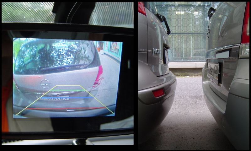 Камера заднего вида на авто своими руками